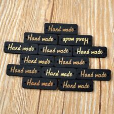 "25Pcs Mixed ""Handmade"" Wooden Sewing Buttons Scrapbooking 2 Holes"