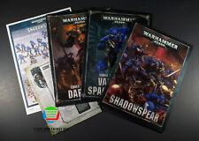 Warhammer 40K Shadowspear - Campaign Book - Codex Daemonkin - Codex Space Marine