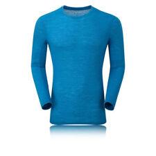 Abbiglimento sportivo da uomo caldo blu manica lunga