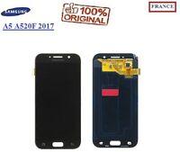 Ecran Complet Vitre Tactile Lcd Noir Samsung Galaxy A5 A520F 2017 ORIGINAL