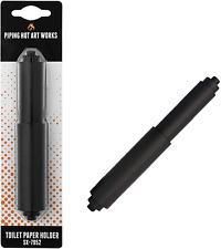 Toilet Paper Roller Holder Sx-7952 Black Toilet Paper Rod Spring New