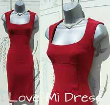 MAGICWEAR - M&S Red Pencil/Wiggle Galaxy Dress 10 EU38