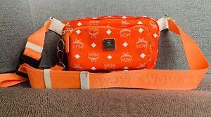 MCM Bauchtasche Orange