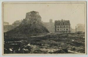 1910 era Regrade District Seattle Washington Real Photo Postcard RPPC by Gamble