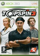 Xbox 360 - Top Spin 3 (Microsoft Xbox 360, 2008)