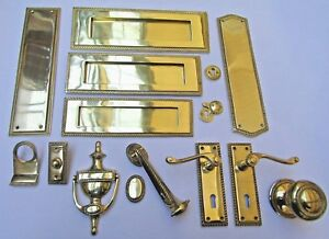 GEORGIAN/ROPE EDGE  -Door furniture main front entrance traditional Accessories