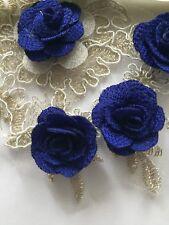 3D Multicolour Applique 18 cm,Lace Motif Bridal Beautiful New Design&Colour,A+