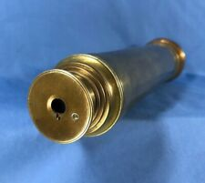 Antique 18th Century Brass Telescope Nautical Marine Spyglass Monocular RARE