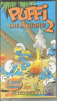 Puffi Che Passione 2 - 4 Nuove Avventure VHS - Peyo