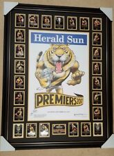 2017 Richmond MARK KNIGHT Premiership COMMON Poster FRAMED PREMIERSHIP cards