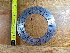 Nice Vintage Clock Chapter Ring (NOS) (Clock Dial Lot K753)