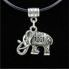 Fashion Women Jewelry Set Silver Elephant Pendant Necklace Hook Earrings Charm