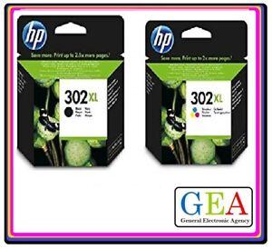 HP302 HP302XL nero e/o colori, serie,ink jet ORIGINALE, cartuccia singola o kit.