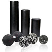 EPP Yoga Foam Roller-Massage Ball Set/Trigger Point Body Muscle Stress Relief