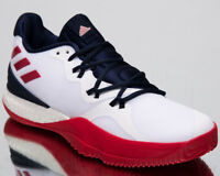 adidas Crazylight Boost 2018 Men's New White Red Navy Basketball Sneakers AC7431