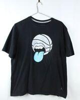 Vintage Nike Air Jordan Basketball Graphic Tee T-Shirt XL Black Retro