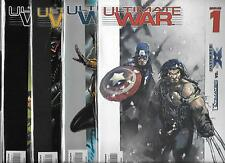 ULTIMATE WAR #1-#4 SET (VF/NM) MARVEL COMICS, ULTIMATES VS. ULTIMATE X-MEN