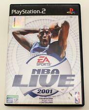NBA LIVE 2001 - PLAYSTATION 2 PS2 PLAY STATION 2 - PAL ESPAÑA - 01