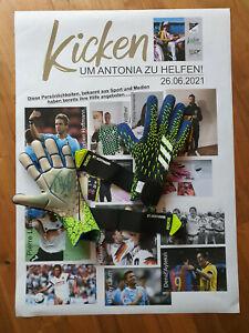 MATCHWORN - TW Handschuhe Ron Thorben Hoffmann - Kicken um Antonia zu Helfen