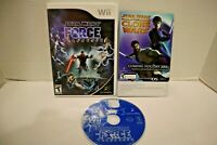 Star Wars: The Force Unleashed (Nintendo Wii) Wii Game Complete CIB VG w/ Manual