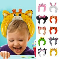 10PCS Headband Foil Balloons Cute Animal Kid Children Toys Birthday Party Decor