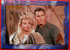 """STAR TREK TOS 50th Anniversary - """"THE CAGE"""" - GOLD FOIL Chase Card #22"""