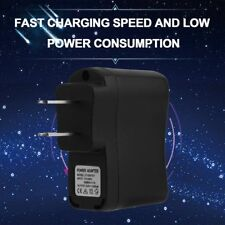 USB AC DC Power Supply Wall Adapter Charging MP3 Charger US Plug Black TW