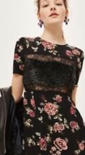 TOPSHOP Petite Sequin Inset Dress XMAS PARTY OR NYE PERFECT