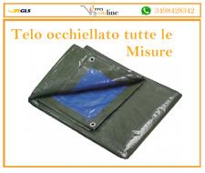 TELO TELONE OCCHIELLATO IMPERMEABILE IN PVC CON OCCHIELLI ULTRA RESISTENTE