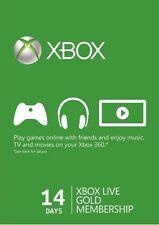 Xbox Live Gold 14 Tage Mitgliedschaft - Xbox 360 Xbox One Karte Card Code Key
