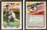 Rey Sanchez Signed 1993 Topps #292 Card Chicago Cubs Auto Autograph