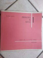 DISEGNO E ARTE 1 Franco Dotti Atlas 1957 testo per la scuola media libro di