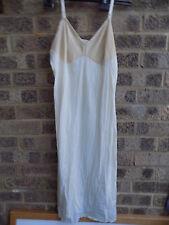 Vintage below knee full length slip / petticoat by Vanity Fair 36L