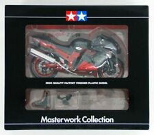 1:12 Tamiya Masterwork Kawasaki ZX14 Flat Black Red Finished Model No Minichamps