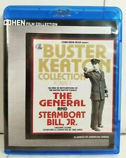 Buster Keaton Collection Volume 1 Blu Ray The General Steamboat Bill, Jr. Cohen