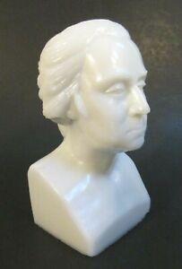 Antique c 1876 GILLINDER Milk Glass GEORGE WASHINGTON CENTENNIAL EXHIBITION Bust