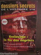 dossiers secrets DE L´HISTOIRE N°14, septembre 1998