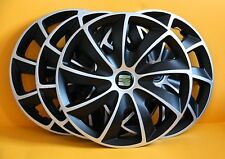 "Seat ibiza,Toledo,Altea XL,Leon...15"" WHEEL TRIMS/COVERS ,HUB CAPS, Quantity 4"