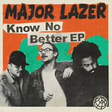 Major Lazer - Know No Better [New CD] Explicit, Extended Play