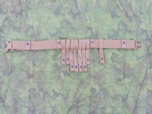 New Spec-Ops Load Bearing Battle Belt w/Molle Attachment USMC Coyote Tan WH