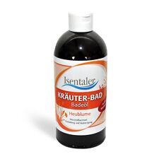 Isentaler Kräuter-Bad Heublume 500 ml Für Sprudel- & Whirlbäder geeignet.