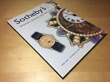 Magazine SOTHEBY'S - Patek Philippe - New York - 23 October 2001 - ENG - N07714
