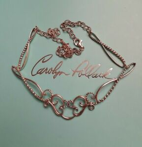 """Carolyn Pollack Relios Sterling Silver Simply Fabulous 16""""Collar Necklace"""