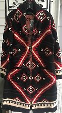 NWT $425 LAUREN RALPH LAUREN SOUTHWEST INDIAN BLANKET CARDIGAN SWEATER COAT XXS