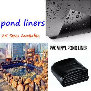 8-32ft Fish Pond Liner Gardens Pools PVC Membrane Reinforced Landscaping 2.5-10M