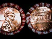 1992 D BU ROLL LINCOLN MEMORIAL CENTS ORIGINAL SEALED >>  (1) ORDER = (2) ROLLS