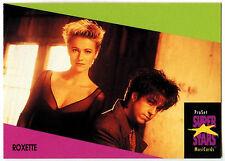 Roxette #117 ProSet Super Stars MusiCards 1991 Trade Card (C376)