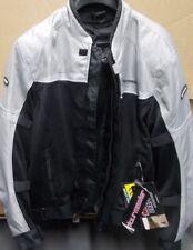 NOS Tour Master Draft Air 2 Jacket Silver Black Mesh Men Large 8751-0207-06