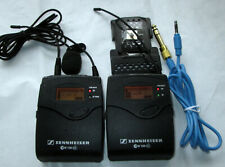 SENNHEISER SK100 G3, EK100 G3 A Band Lav Mic Wireless Transmitter & Receiver