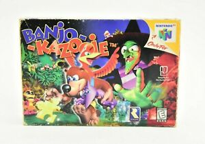 Banjo Kazooie Nintendo 64 N64 Complete in Box Tested and Working